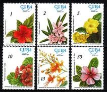 Kuba  1977 MiNr. 2217/ 2222  ** / Mnh ; 100. Geburtstag Von Juan T. Roig: Blumen - Pflanzen Und Botanik