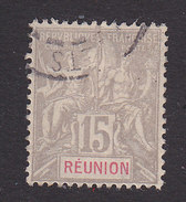 Reunion, Scott #42, Used, Navigation And Commerce, Issued 1900 - Réunion (1852-1975)