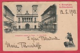 Russian / Russie - St. Pétersbourg - St.Petri-Kirche - 1902  ( Voir Verso ) - Russie