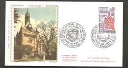 FDC Toulouse  Le Donjon Du Capitole - 1970-1979