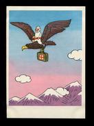 Medicine Fairy Tale Dr.Aibolit Flies On Eagle Physician Red Cross Veterinarian Médecin Docteur Arzt Illustration - Fiabe, Racconti Popolari & Leggende