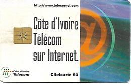 @+  Cote D´Ivoire - Citelcarte - Télécom Sur Internet (Gem1B)