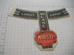 ETIQUETTE BLANC MOUSSI  BRASSERIE LAMOT MECHELEN - Bière