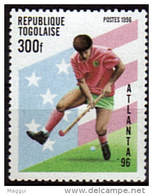 TOGO    N° 1436   * *   Jo 1996  Hockey Sur Gazon