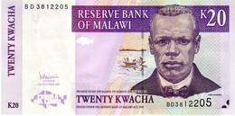 Malawi P.52  20 Kwacha 2007  Unc - Malawi
