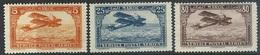 Fr Morocco  1922-7   Sc#C1-2, C6   3 Airmails MH*  2016 Scott Value $4.10 - Marruecos (1891-1956)