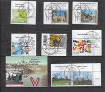 Schweiz Gestempelt 2487-2499 Neuausgaben Mai 2017 - Used Stamps