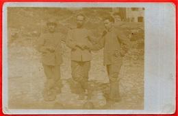 CPA CARTE-PHOTO Prisonniers - Souvenir De Captivité Décembre 1917 NURNBERG (voir Texte 74 Vulbens Valleiry) - Guerre 1914-18