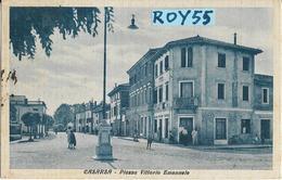 Friuli Venezia Giulia-pordenone-casarsa Piazza Vittorio Emanuele Animata Bella Veduta Anni 30/40 - Andere Steden