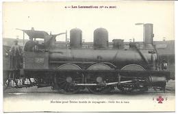 TRAIN - LES LOCOMOTIVES (Cie Du Midi) - Machine Série 801 à 1202 - Trains