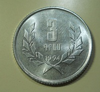 Armenia 3 Dram 1994 - Armenia
