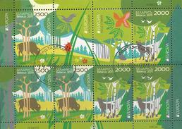 Wit-Rusland, Yv Blok 732-33 Jaar 2011, Europa Cept, Gestempeld, Zie Scan - Belarus