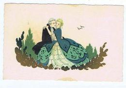 MESCHINI - COUPLE FLIRTING - EDIT ULTRA - N. 2241 A - 1930s ( 273 ) - Illustrateurs & Photographes
