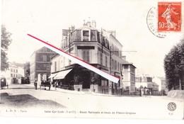 SAINT-CYR Ecole (S Et O) - Route Nationale Et Route De Plaisir-Grigeon - St. Cyr L'Ecole