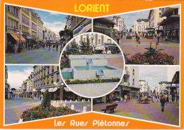 CPM Lorient - Les Rues Piétonnes Du Centre Ville - Lorient