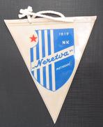 NK NERETVA, METKOVIC, CROATIA  FOOTBALL CLUB, CALCIO OLD PENNANT, SPORTS FLAG - Uniformes Recordatorios & Misc