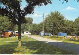 18 - AUBIGNY SUR NERE : Le Terrain De Camping - CPSM CPM GF - Cher - Aubigny Sur Nere
