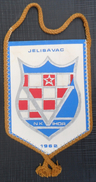 NK VIHOR, JELISAVAC, CROATIA  FOOTBALL CLUB, CALCIO OLD PENNANT, SPORTS FLAG - Uniformes Recordatorios & Misc