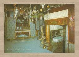 Israel Old Postcards Bethlehem. Grotto Of The Nativity  Pajphot Lda. Herzlia  Places Of The Bible - Israel