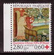 FRANCE - 1994 -YT N° 2915 - Oblitéré - Croix Rouge - Frankreich