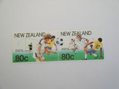 1991  Nouvelle Zélande - Yvert 1102/3 ** Sport Football Scott 1022  Michel 1158/9  SG 1587/8 - New Zealand