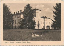 Y2801 Suno (Novara) - Parco E Castello Della Porta - Castle Chateau Schloss Castillo / Non Viaggiata - Andere Steden
