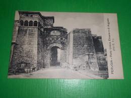 Cartolina Perugia - Porta Urbica Etrusca O Di Augusto 1920 Ca - Perugia