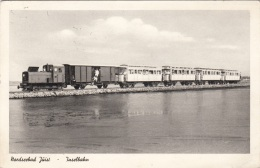 NORDSEEBAD JUIST - INSELBAHN, Gel.1958 - Eisenbahnen