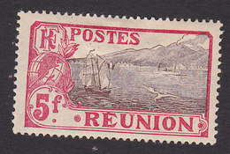 Reunion, Scott #98, Mint Hinged, Scenes Of Reunion, Issued 1907 - Reunion Island (1852-1975)
