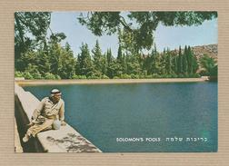 Israel Old Postcard Bethehem Solomon's Poolsy Places Of The Bible - Israel