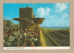 Israel Old Postcards Tel Avive Atarim Square Places Of The Bible - Israel