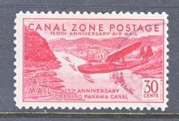CANAL  ZONE  C 19    (o) - Canal Zone