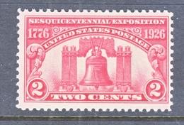 U.S. 627   *   LIBERTY  BELL - United States