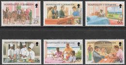 Bermuda SG809-814 1998 Hospitality In Bermuda Set 6v Complete Unmounted Mint [34/28871/2D] - Bermudes