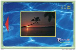 Fiji - 2000 Dawn & Dusk - $2 Small Sunset - FIJ-159 - VFU