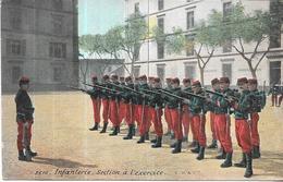 LOT De 3 CPA COLORISEES - INFANTERIE - Section Exercice Cuisiniers Etcorvée  - ORL - - Regiments