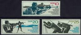 DDR 1967 - MiNr 1251-1253 - Biathlon-Weltmeisterschaften, Altenberg. - Wintersport (Sonstige)