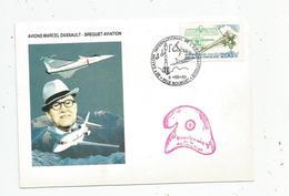G-I-E , Cp , Aviation, AVIONS MARCEL DASSAULT - BREGUET AVIATION , 38 E Salon Del'aéronautique ,93 , LE BOURGET - Aviateurs