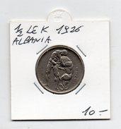 Albania - 1926 - 1/2 Lek - (FDC4534) - Albania