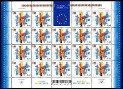 Estonia 2001 MNH ** Mi 396 European Year Of Languages Sheet - Estonia