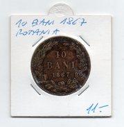 Romania - 1867 - 10 Bani - (FDC4541) - Roumanie