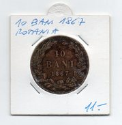 Romania - 1867 - 10 Bani - (FDC4541) - Romania