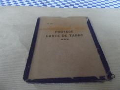 Ancien Protege Carte De Tabac - Vieux Papiers