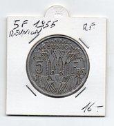 Reunion  (Amministrazione Francese) - 1955 - 5 Franchi - (FDC4542) - Réunion