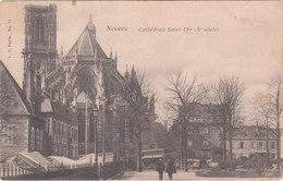 Carte Postale Ancienne De La Nièvre - Nevers - Cathédrale Saint Cyr - Nevers