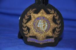 Badge Brodé Association Police International - Police & Gendarmerie