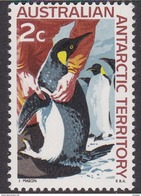 Australian Antarctic Territory  ASC 9 1966 Decimal Definitives 2c Penguins MNH