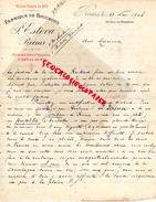 51 - REIMS- LETTRE FACTURE MANUSCRITE SIGNEE FABRIQUE DE BOUCHONS P. ESTEVA - 1906 - France