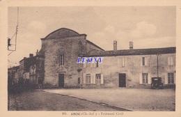 CPSM 9X14 De JONZAC     (17) -  TRIBUNAL CIVIL N° 105- V OITURE   - édit CHATAGNEAU - Jonzac