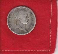 Napolèon..  Empire Français...deux Francs .1810  A... Paris ..  Argent . Tête Laurèe , ètat  TB.  Dans Son Jus - France